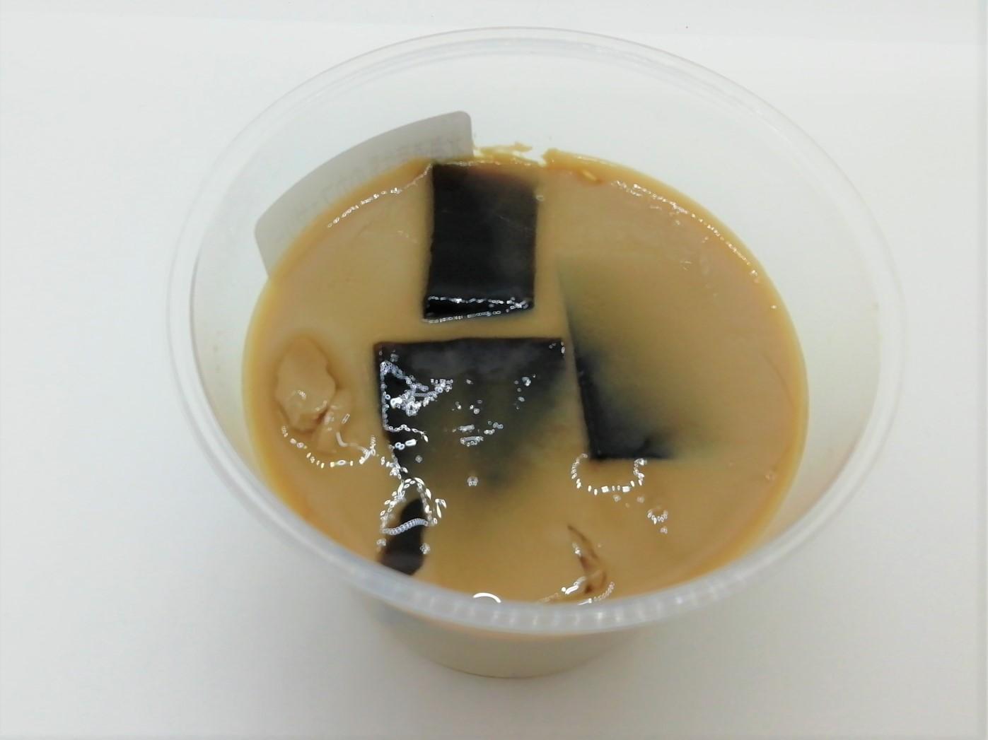 ロピア北海道産牛乳のカフェゼリー